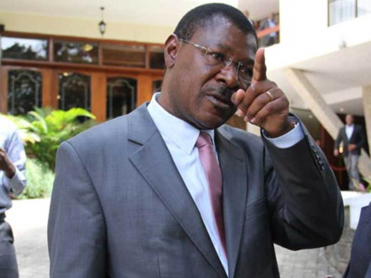 Image result for Moses wetangula in china