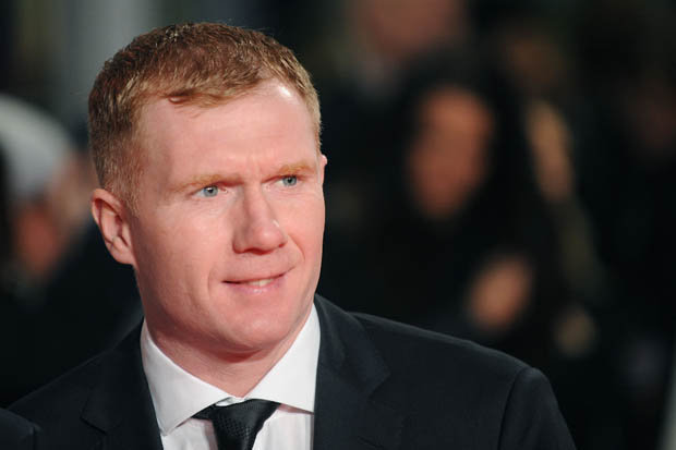 Former Manchester United Player Paul Scholes.  Courtesy