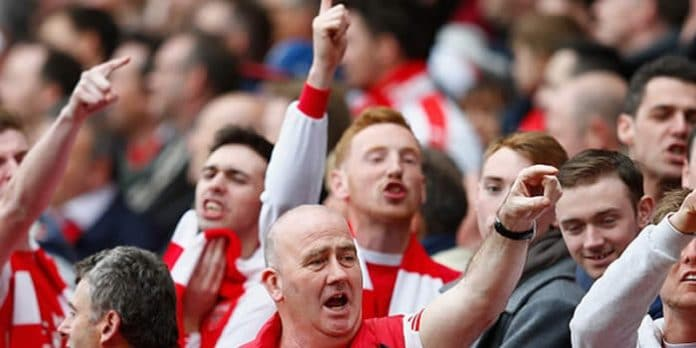 arsenal fans likely to cheat