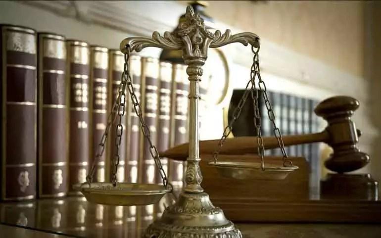 auto legislation - scales of justice