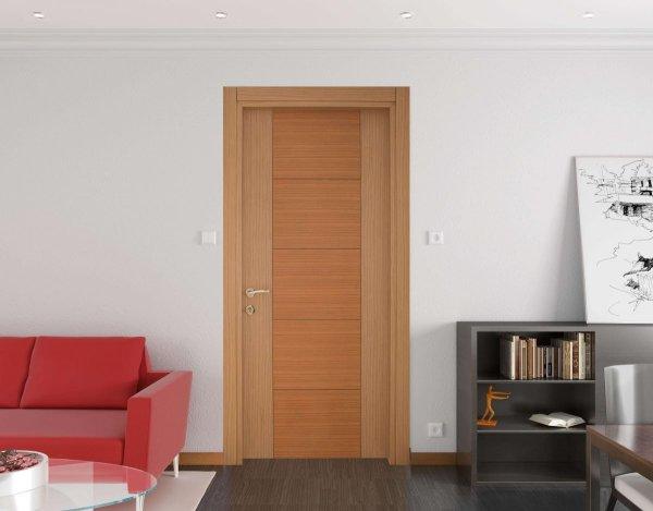 alpi meşe kaplamalı oda kapısı