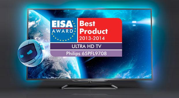 1c2b35e8994 Saadud auhind on välja antud Euroopa parima Ultra HD teleri eest 2013-14  aastal. Väidetavalt on Philipsi uus pildikast märkimisväärselt soodsam  teistest 4K ...