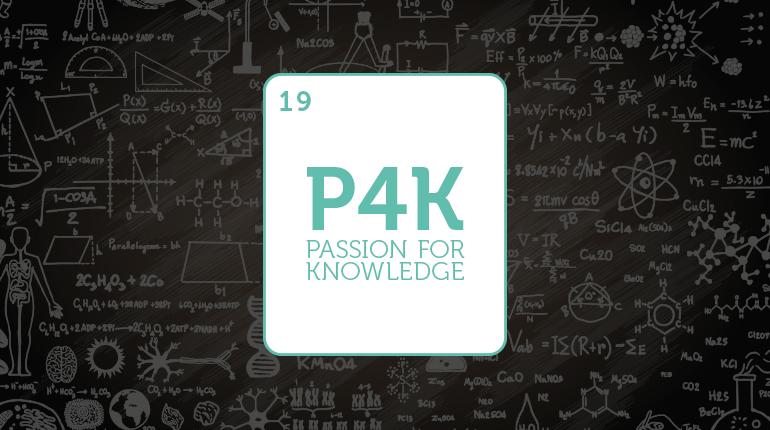 Passion for Knowledge Festibalean (P4K) ikasleen parte-hartzea gero eta handiagoa da