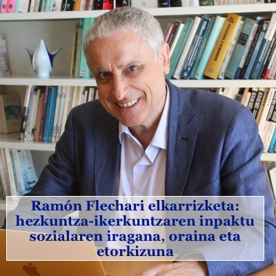 Ramón Flechari elkarrizketa