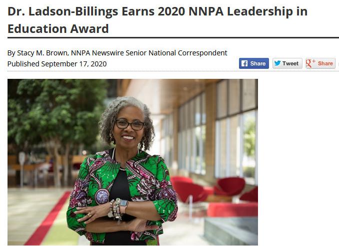 Gloria Ladson Billings, ikasle afroamerikarren hezkuntza-arrakastaren bila