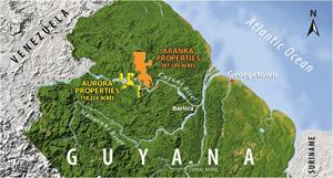 Guyana Goldfields considers selling Aurora operations