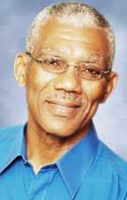 APNU Leader, David Granger