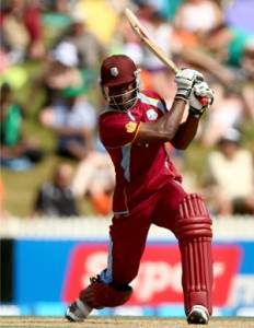 Kirk Edwards ensured West Indies built on their rapid start. (Getty Images)