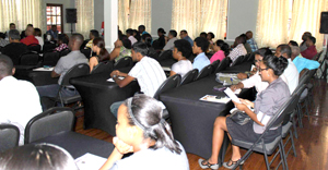 A section of the attentive audience at the Entrepreneurship Workshop (GCCI photo)