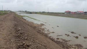 Government yesterday said it is forced to test the $3.6B Hope Canal this morning after heavy rains left the EDWC at critical levels.