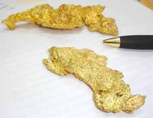 A significant amount of gold is being smuggled to Suriname, Government officials say.