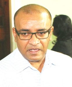Leader of the Opposition, Bharrat Jagdeo.