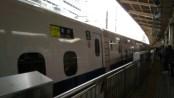 新幹線で東京へ