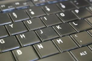 英語版のパソコンキーボード