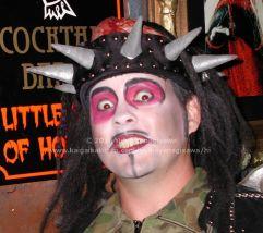 ハロウィンのちょっとおかしな兵士の仮装
