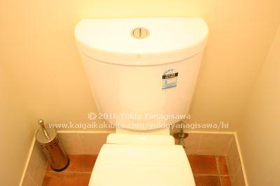 手を洗うところががないトイレ