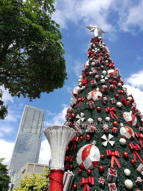 フィリピンのクリスマスツリー