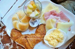 オーストリアの朝食