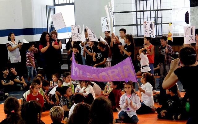 アルゼンチンの教室の様子