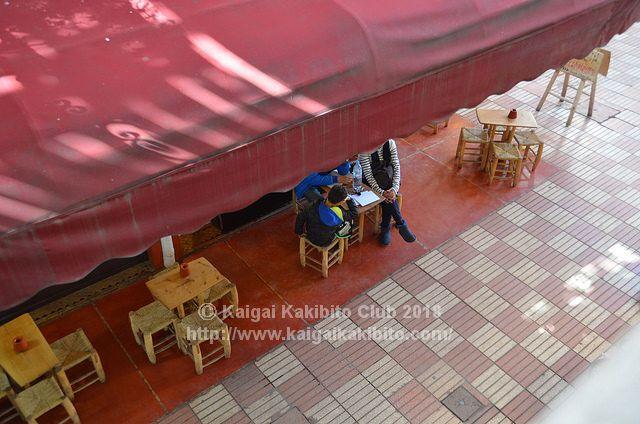 モロッコのカフェ