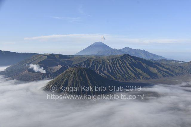 インドネシアのプロモ山