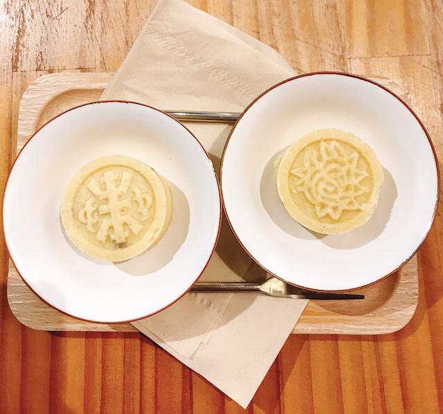 台湾のお菓子「緑豆糕」