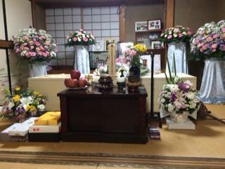 納棺の儀 葬儀1日前