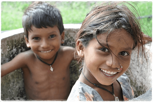 子供の自然な笑顔