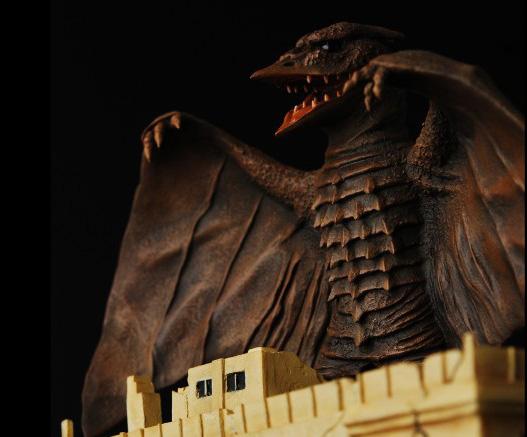 M Arts Rodan 1956 Godzilla Resin Model Kit Kits Models