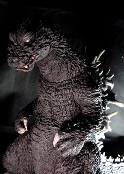 T Facto Godzilla 2002 Resin Model Kit Kaiju Kits