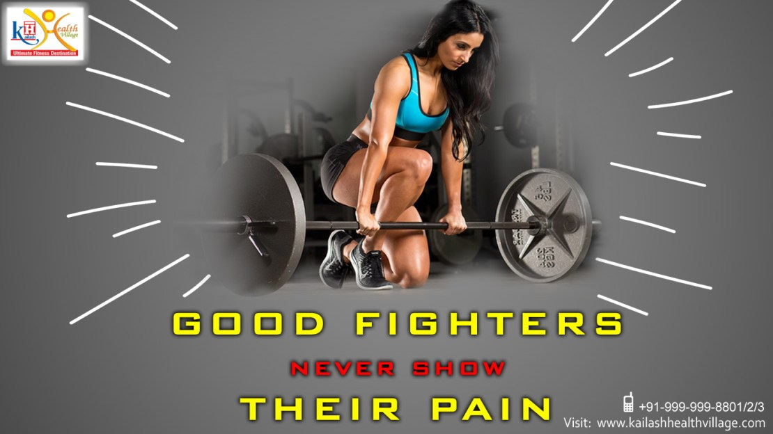 Strongest Fighters are those who accept Pain as Challenge
