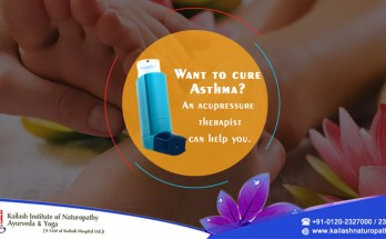 Acupressure Therapy for Asthma Problem