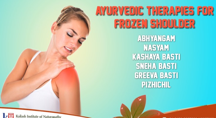 Ayurvedic Therapies For Frozen Shoulder