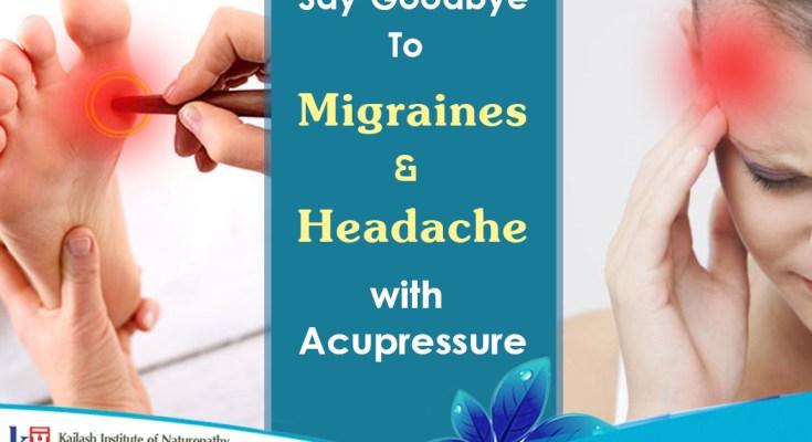 Migraines & Headache with Acupressure