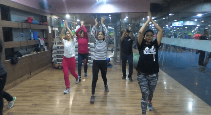 Bollywood Cardio Workout at Kailash Health Village