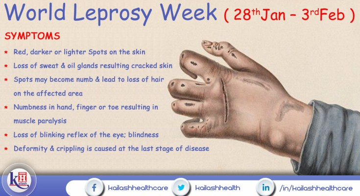 Early diagnosis & treatment can prevent disability from Leprosy
