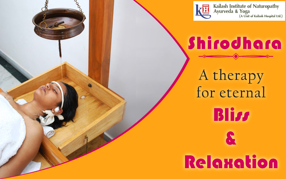Try our Shirodhara Naturopathy Treatment for Eternal Bliss & Relaxation