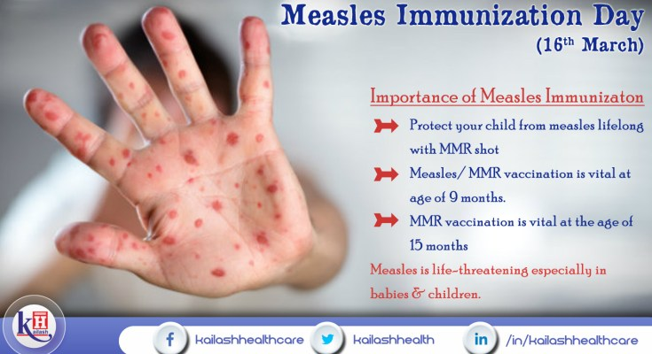 Measles Immunization Day ( 16th March 2018 )
