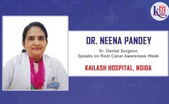 5. Dr. Neena Pandey's (Sr. Dental Surgeon – Kailash Hospital, Noida) speech on Root Canal Awareness Week