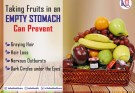 Fruits taken in empty stomach can give great health benefits & prevent hair loss.