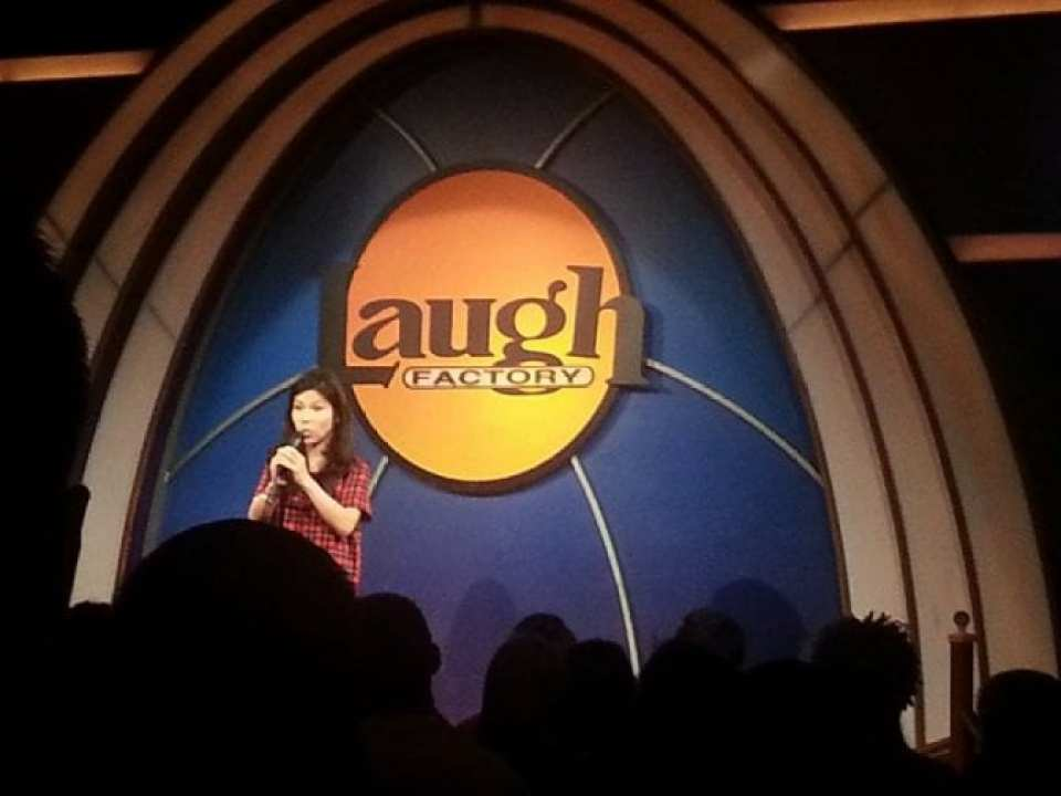 Aiko Tanaka at The Laugh Factory
