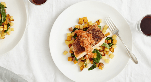 Plated - Salmon Kohlrabi