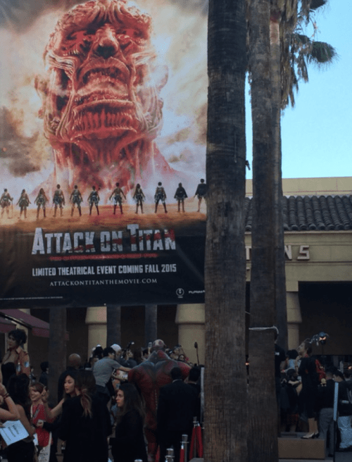 Attack on Titan Movie Premiere