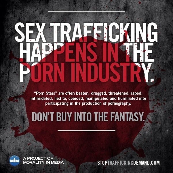 sex trafficking in porn