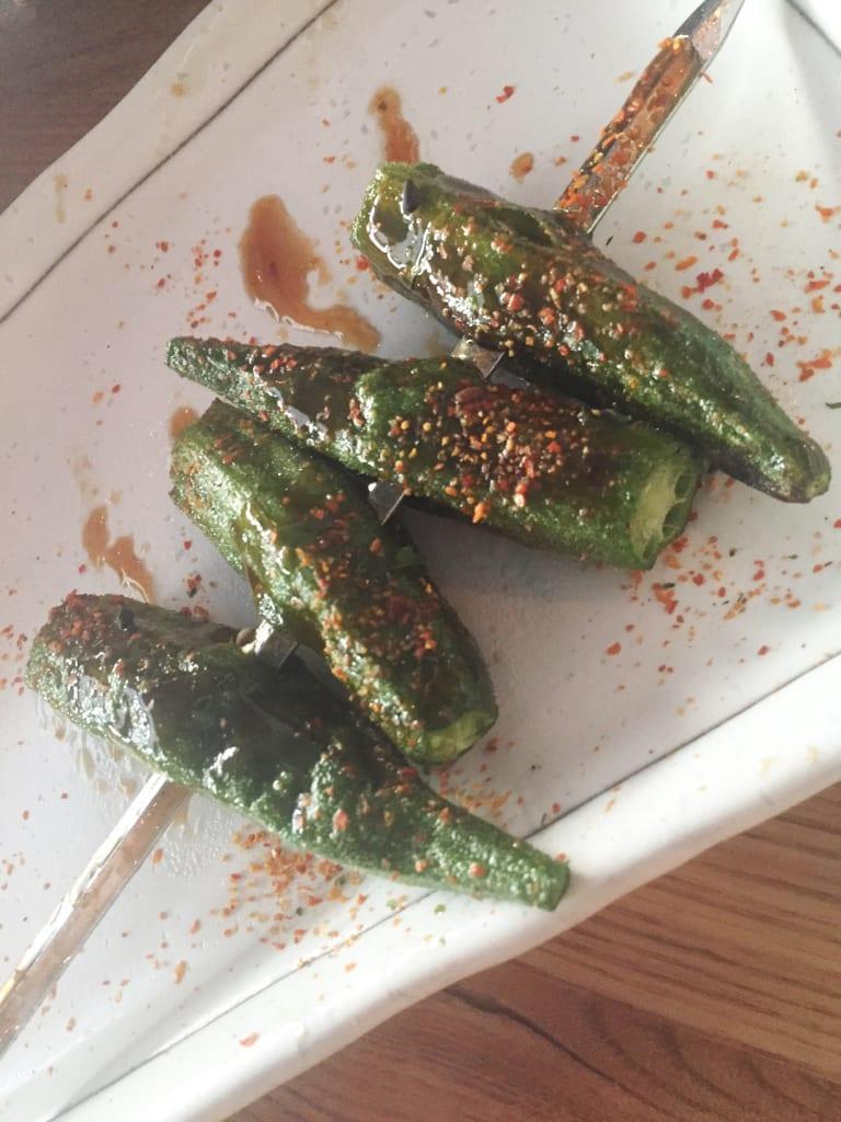 1 Chang-an Restaurant Okra Skewers