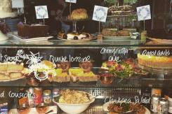 Salads and quiche