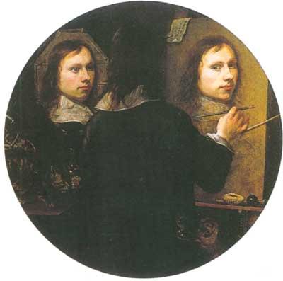 Johannes Gumpp Autoritratto 1646