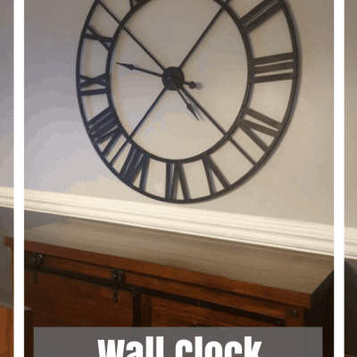 DIY Wall Clock Transformation