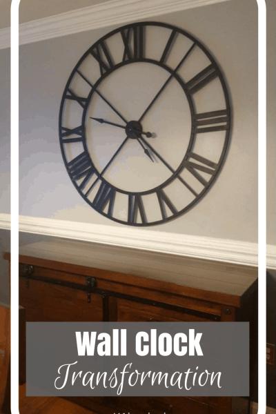 DIY Wall Clock Transformation