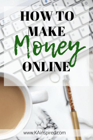 Are you looking for a way to make money online? #pinterest #sidehustle #pinning #kainspired #makemoney #makemoneyonline #makemoneyfromshipping #makemoneyfromblogging #blog #howtostartablog #siteground #ebates #pinning #money